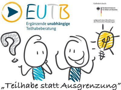 """Online-Veranstaltung zum Thema """"Ergänzende unabhängige Teilhabeberatung  (EUTB)"""""""